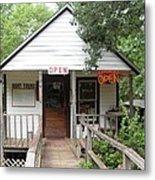 Turning Basin Bayou Tours Jefferson Texas Metal Print