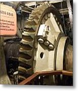Turning Gear Engine Room Queen Mary 02 Metal Print