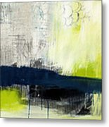 Turning Point - Contemporary Abstract Painting Metal Print