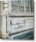 Think Back Metal Print by Paulette Maffucci