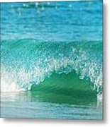 Turquois Waves  Metal Print