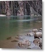 Turquoise Colorado River Metal Print