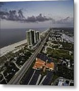 Turquoise Place At Dawn Metal Print