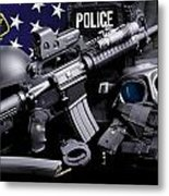 Tuscaloosa Police Metal Print by Gary Yost