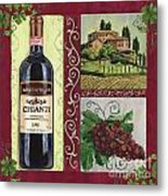 Tuscan Collage 1 Metal Print