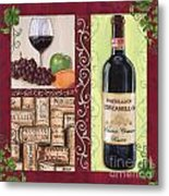 Tuscan Collage 2 Metal Print