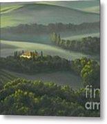 Tuscan Daybreak Metal Print