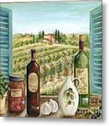 Tuscan Delights Metal Print by Marilyn Dunlap