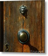 Tuscan Doorknob Metal Print