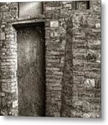 Tuscan Doorway Metal Print