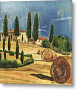 Tuscan Dream 2 Metal Print by Debbie DeWitt