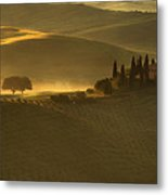Tuscan Farmhouse Metal Print by Andrew Soundarajan