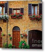 Tuscan Homes Metal Print