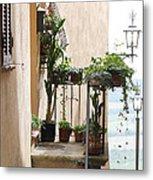 Tuscan Staircase Metal Print