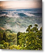 Tuscan View Metal Print by Silvia Ganora