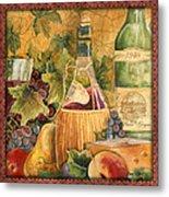 Tuscan Wine-c Metal Print