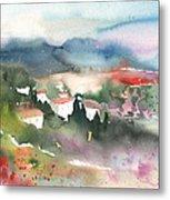 Tuscany Landscape 01 Metal Print