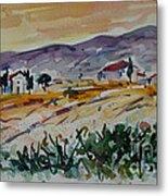 Tuscany Landscape 1 Metal Print