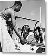 Tuskegee Airmen, C1943 Metal Print