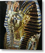 Tutankamon's Golden Mask Metal Print
