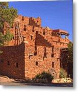 Tuzigoot Museum And Ruins Arizona Metal Print