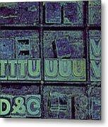 Tv II Metal Print