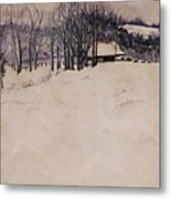 Twenty Two Inches Metal Print by Barbara Hester