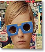 Twiggy Pop  Metal Print by Chandler  Douglas