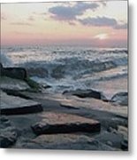 Twilight At Cape May In October Metal Print