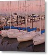 Twilight At The Harbor Metal Print