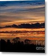 Twilight Colorful Sunset Metal Print