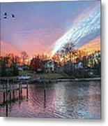 Twilight Colors Metal Print