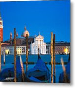 Twilight In Venice  Metal Print