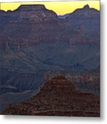 Twilight Mather Point  Metal Print
