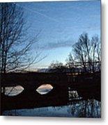 Twilight On The Potomac River Metal Print