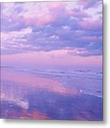 Twilight Reflection Cape May Metal Print