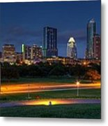 Twilight Skyline Metal Print