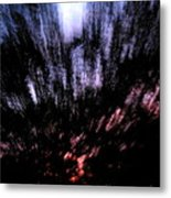 Twilight Tree Travel Metal Print