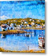 Twillingate In Newfoundland Metal Print