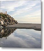 Twin Lakes Beach Metal Print
