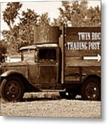 Twin Rocks Trading Post Metal Print
