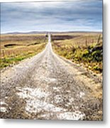 Twin Towers Road Metal Print