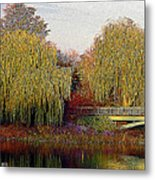 Twin Willows Metal Print
