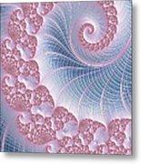 Twirly Swirl Metal Print