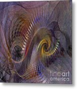 Twist And Shout - Square Version Metal Print