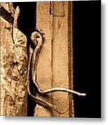 Twisted In Time.. Metal Print