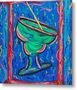 Twisted Margarita Metal Print