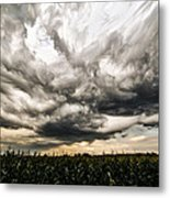 Twisted Sky Metal Print by Matt Molloy