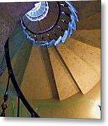 twisted stairs Vizcaya Metal Print