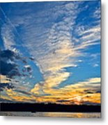 Twister Cloud Metal Print